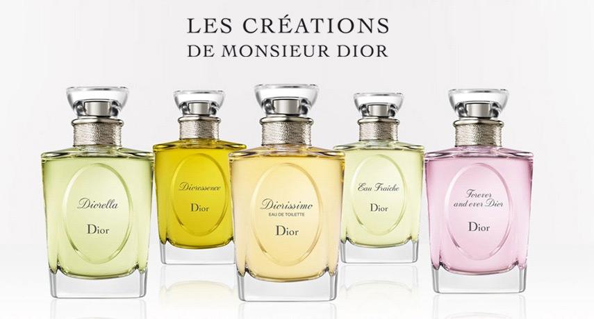 Les Creations De Monsieur Dior Diorama Christian Dior Perfume A