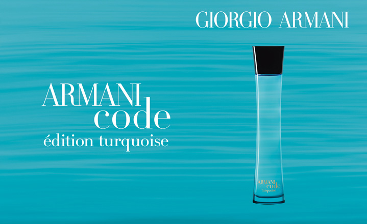 Armani Code Turquoise For Men Giorgio Armani Cologne A Fragrance