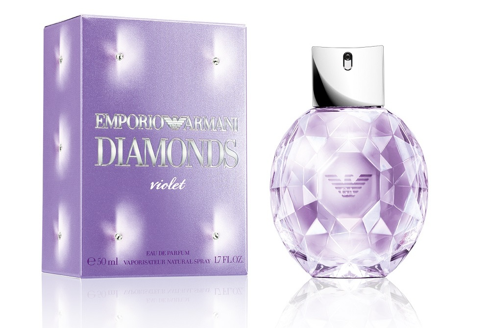 Women Violet Diamonds Armani Giorgio Emporio For Y6yf7gvb