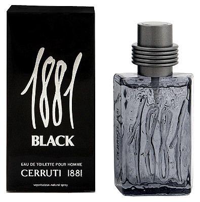 1881 Cerruti Parfum 100ml Homme Black IY7yb6vfg