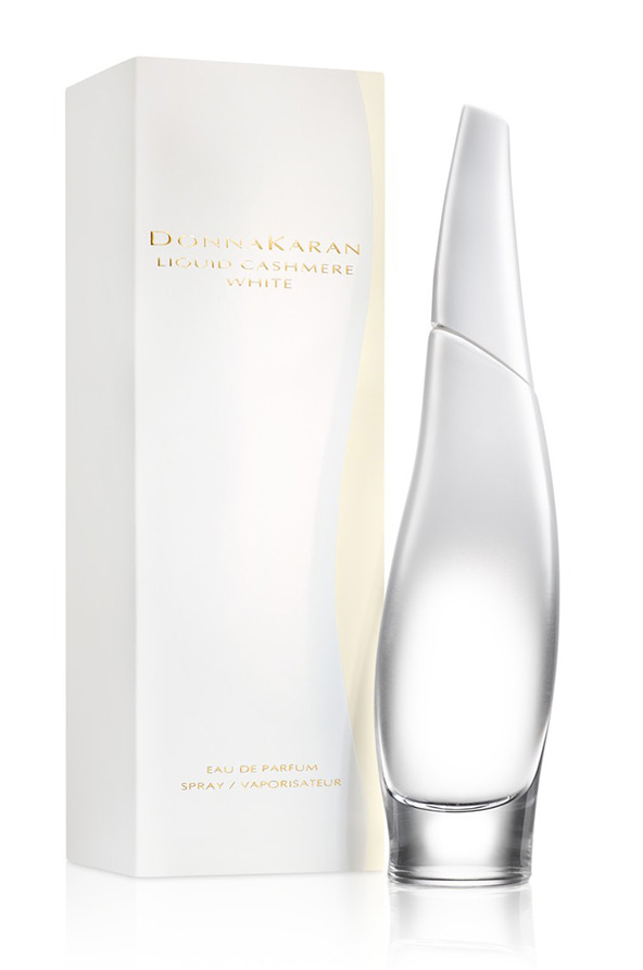 new style a7155 1564f Liquid Cashmere White Donna Karan for women