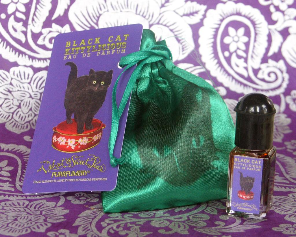 Black Cat Velvet  amp  Sweet Pea s Purrfumery perfume - a fragrance ... 6f978975b3