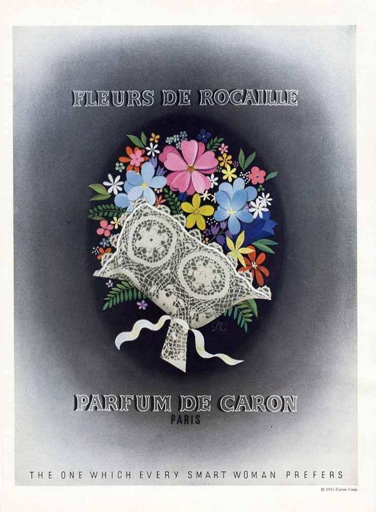 Pour De Femme Caron Fleurs Rocaille DH9EIWYe2