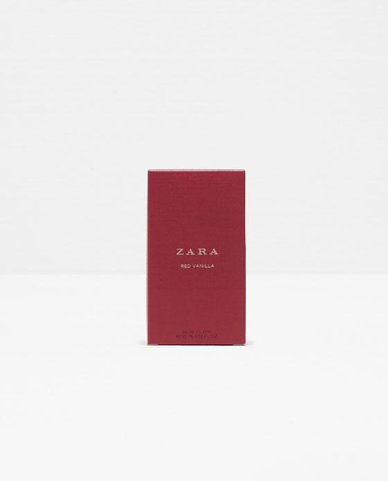 Red Vanilla Zara Perfume A Fragrance For Women And Men 2015