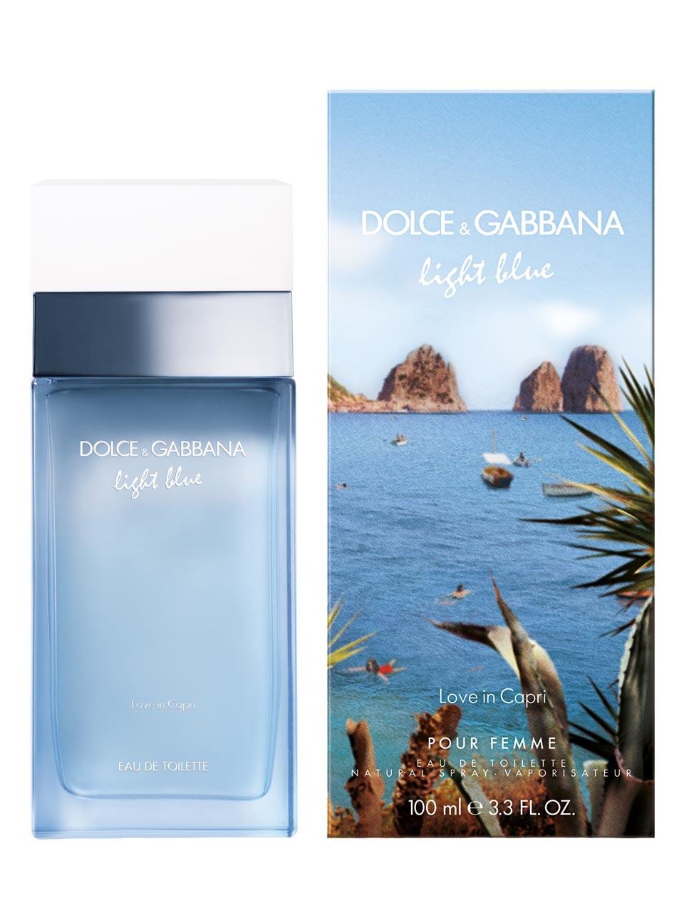 Light Blue Love in Capri Dolce amp Gabbana perfume - a fragrance for ... 9b1e745409f
