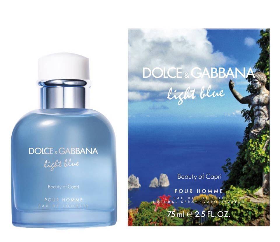 Light Blue Pour Homme Beauty of Capri Dolce Gabbana for men Pictures ... e85f6153e23f