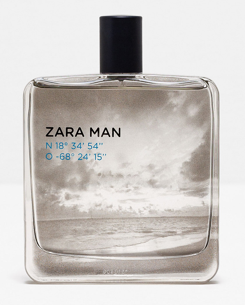 Man 18º 34' O 68º Un 54'' Cologne Parfum N 15'' Zara 24' AqRjc543L