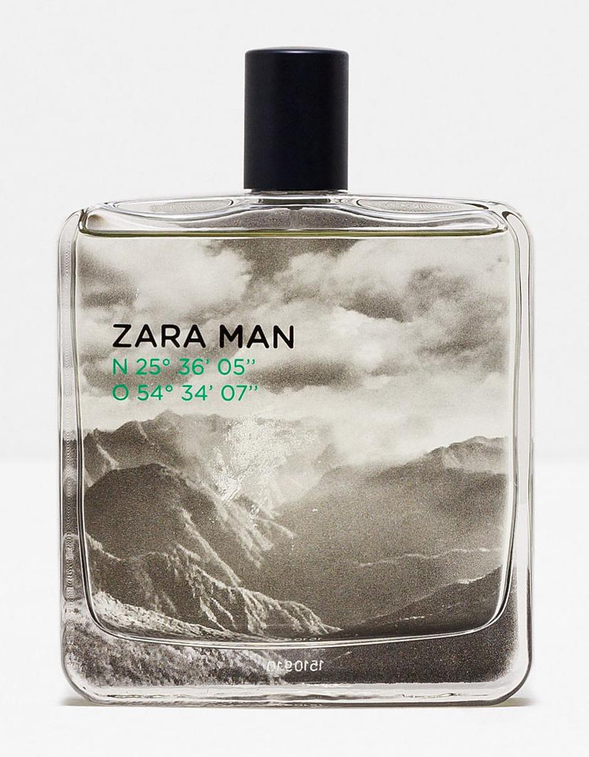 Zara Man N 25º 36 05 O 54º 34 07 Zara Cologne A Fragrance