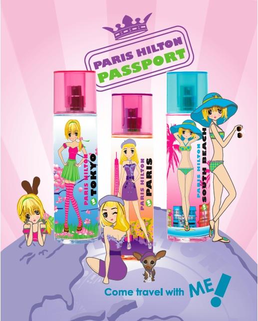 Passport Tokyo Paris Hilton Perfume A Fragrance For