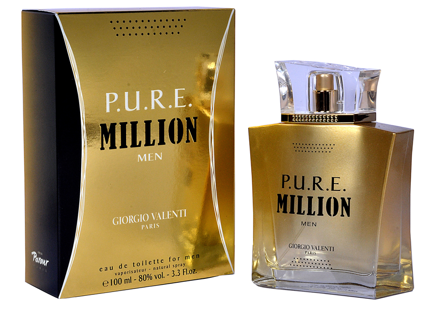 P.U.R.E. Million Giorgio Valenti cologne een geur voor heren
