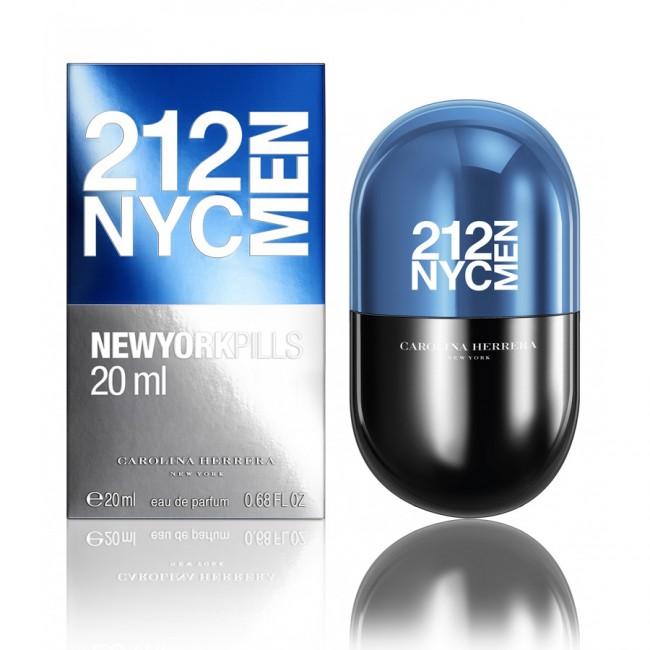 40952295c 212 NYC Men Pills Carolina Herrera cologne - a fragrance for men 2016