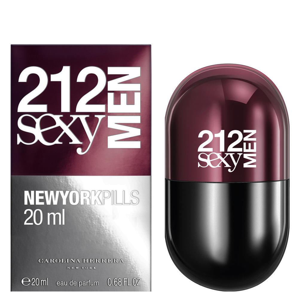 88afaf53b 212 Sexy Men Pills Carolina Herrera colônia - a fragrância Masculino ...