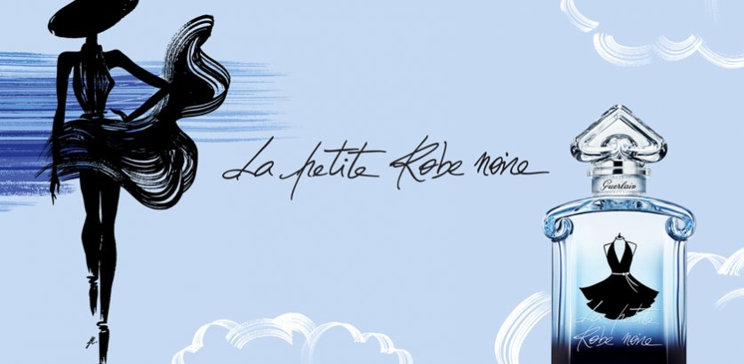 Noire Petite La Femme Robe Guerlain Pour W2EDH9IY