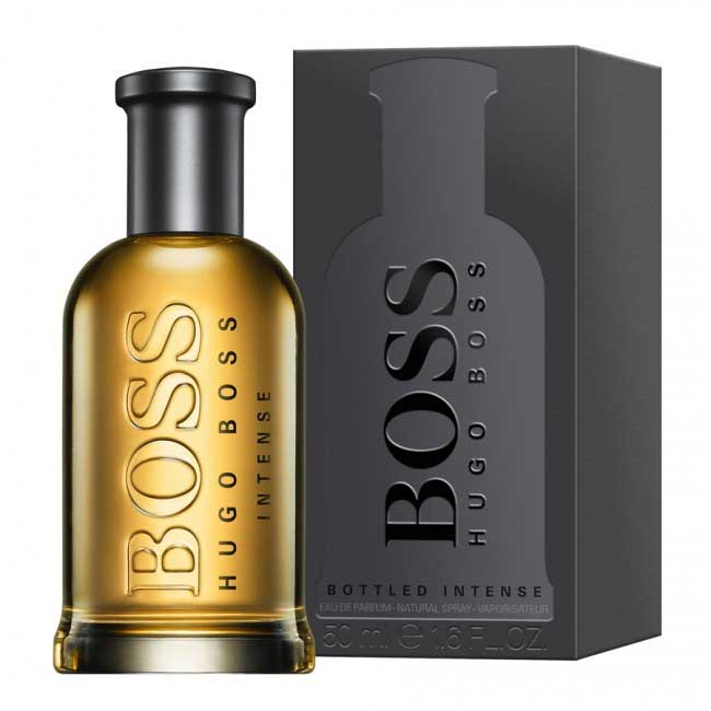 Boss Bottled Intense Eau De Parfum Hugo Boss одеколон аромат для