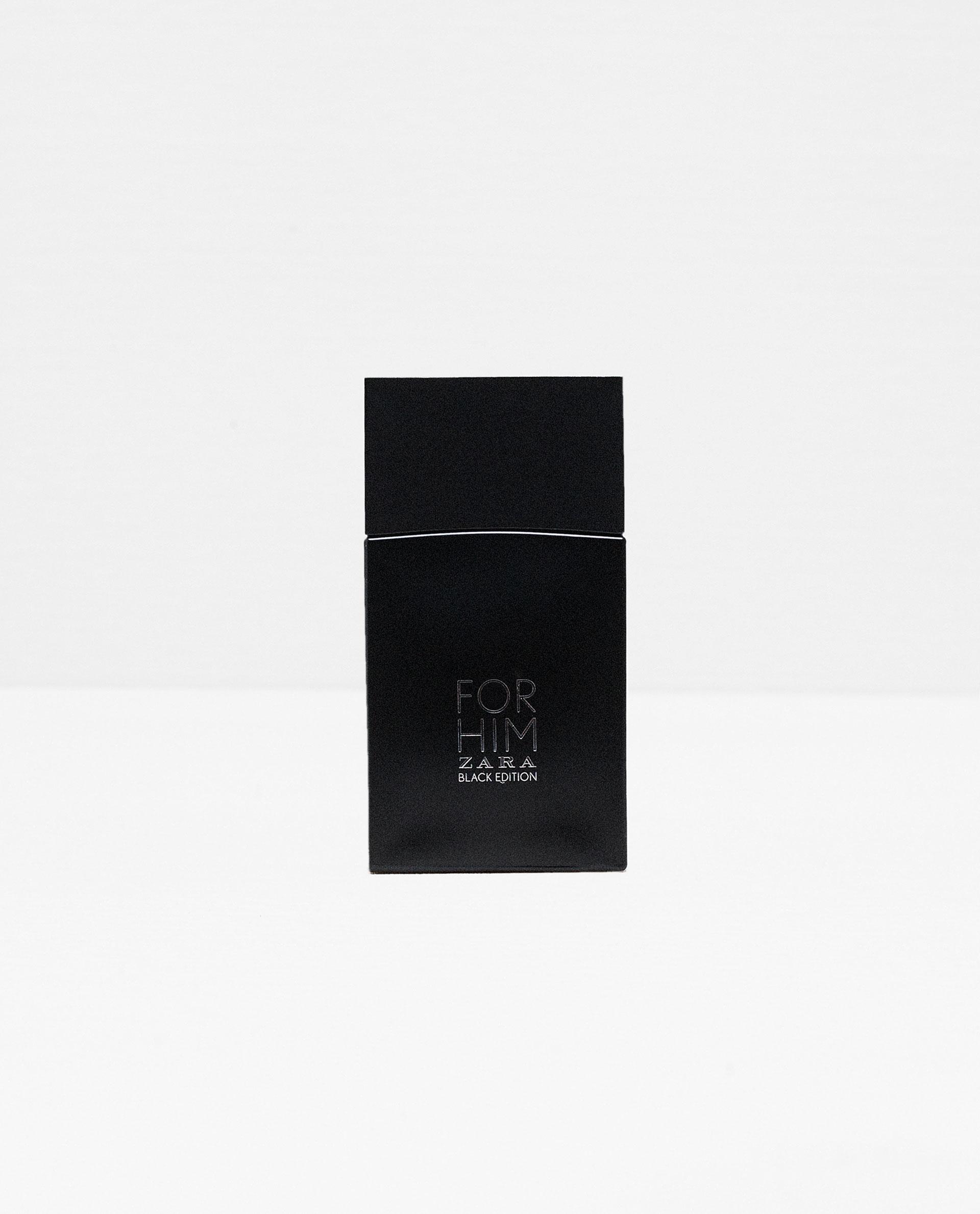 Zara For Him Black Edition Zara for men