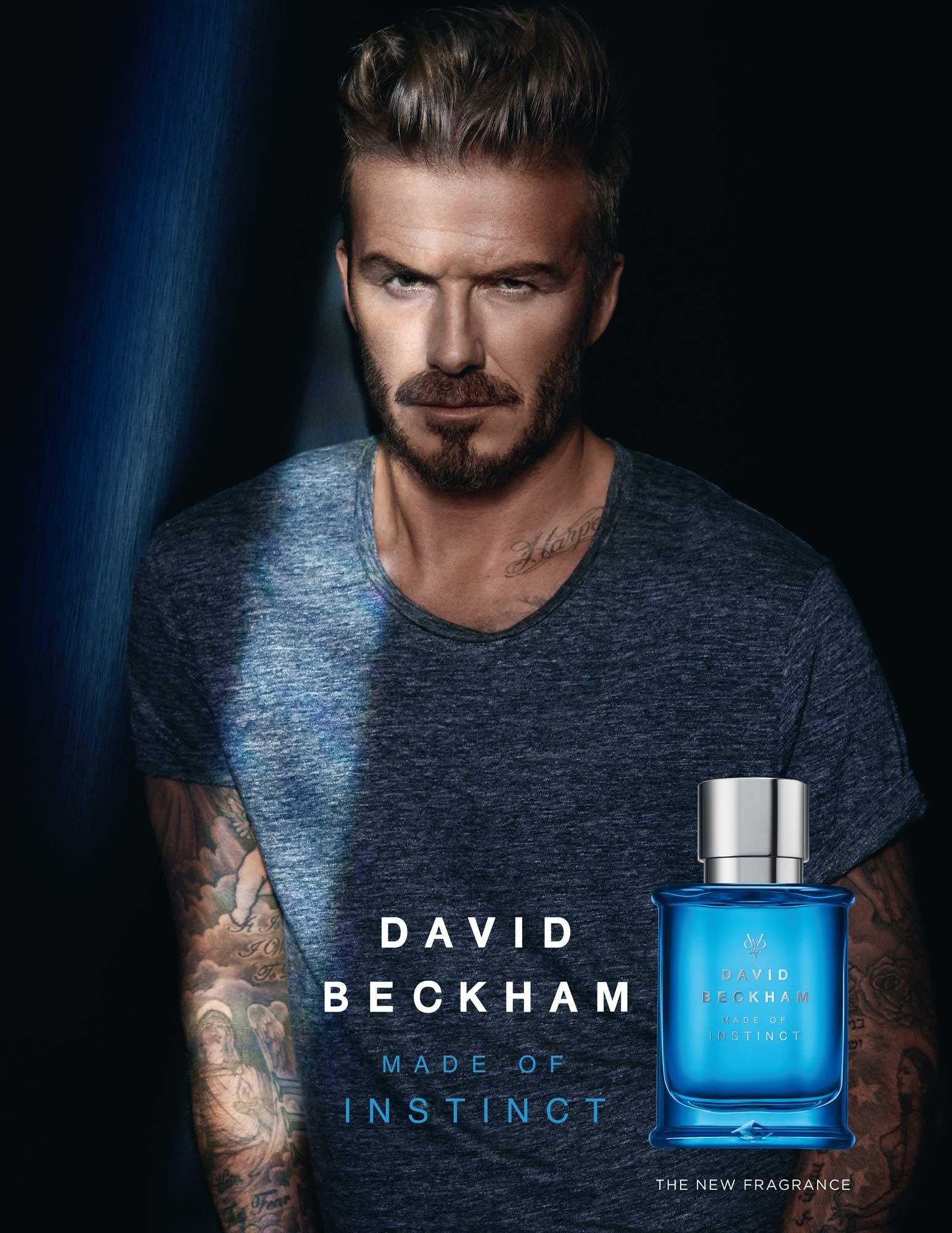 Made of Instinct David Beckham cologne - a new fragrance for