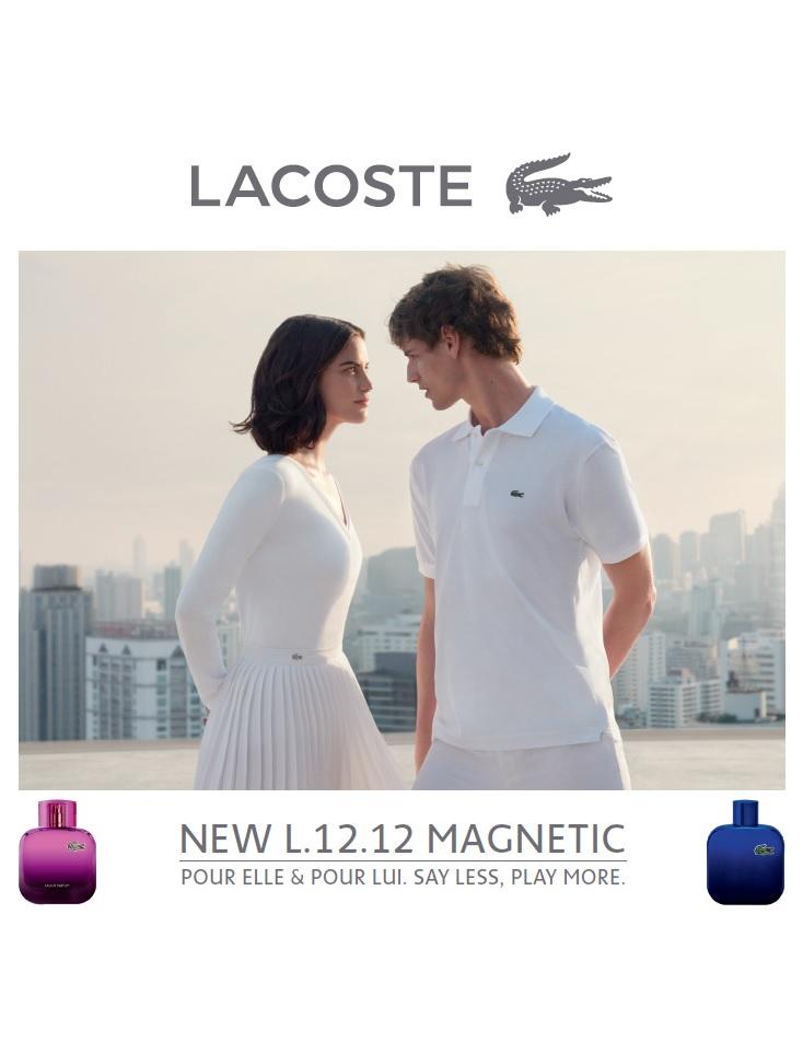 b91a47c21678d Eau de Lacoste Pour Homme L.12.12. Magnetic Lacoste Fragrances for men  Pictures ...