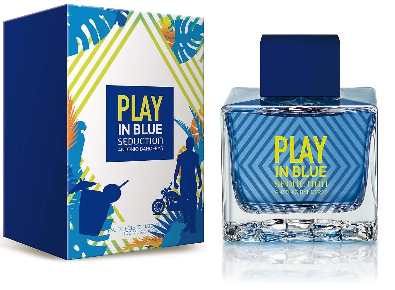 8f66d3074 Play In Blue Seduction For Men Antonio Banderas cologne - a new ...