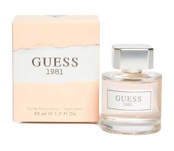 Guess 1981 Guess Perfume A New Fragrance For Women 2017
