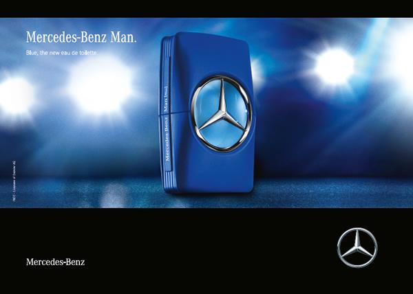 ec64ba6da3 Mercedes Benz Man Blue Mercedes-Benz Colonia - una nuevo fragancia ...