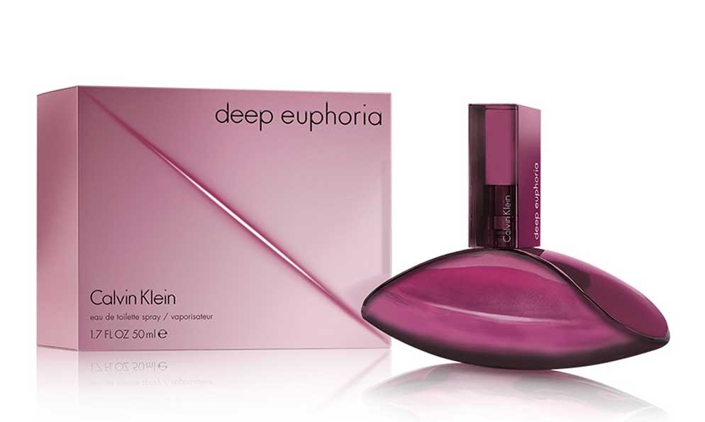 Deep Euphoria Eau De Toilette Calvin Klein аромат новый аромат для