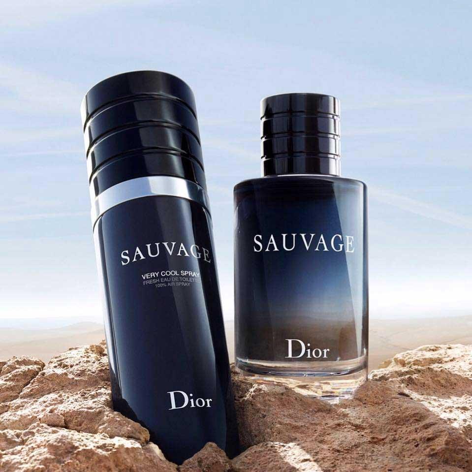 Sauvage Very Cool Spray Christian Dior одеколон новый аромат для