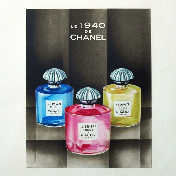 Le 1940 Bleu de Chanel Chanel perfume - a fragrance for women 1931 4221642f9
