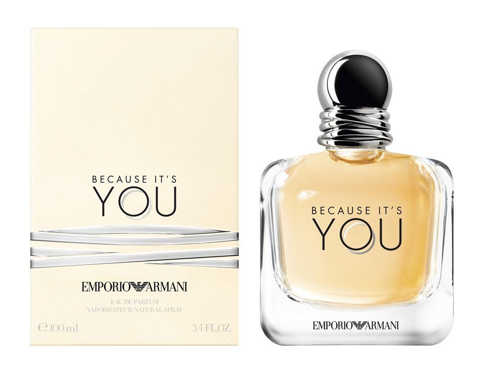 Giorgio Because Emporio Pour Femme Armani It's You KT3uclF1J
