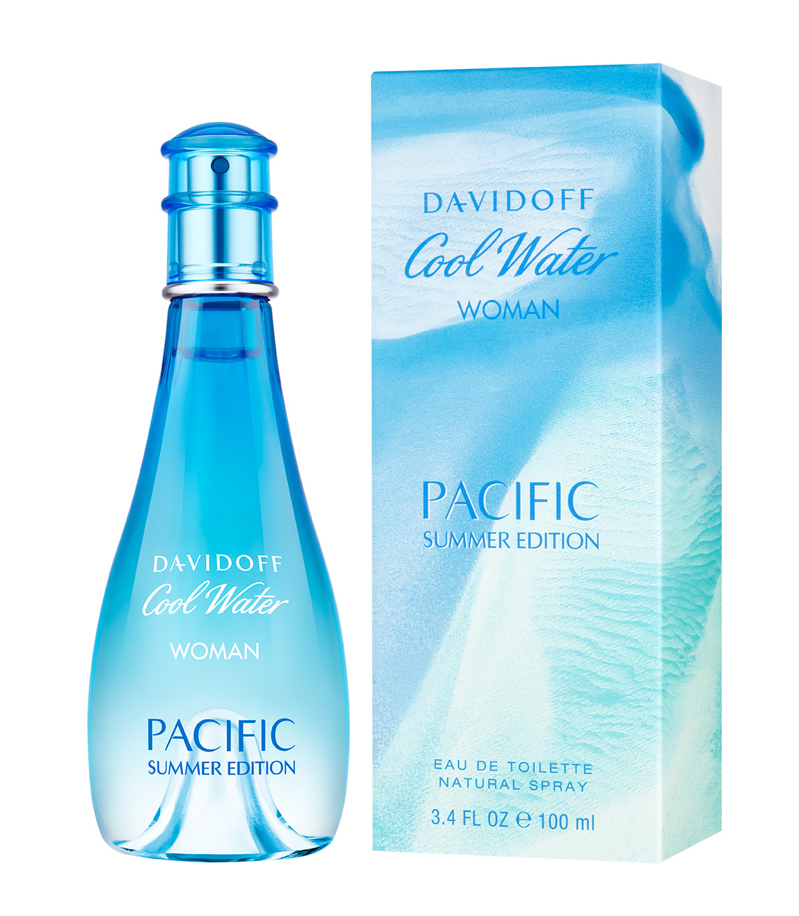 Cool Water Pacific Summer Edition For Women Davidoff Perfume A New