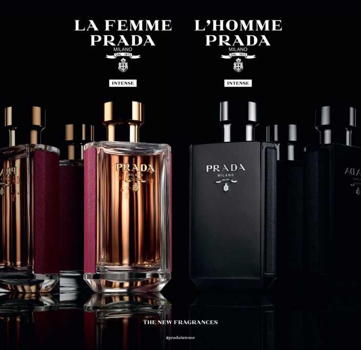 Image result for Prada L'Homme Intense Eau De Parfum For Men 100ml