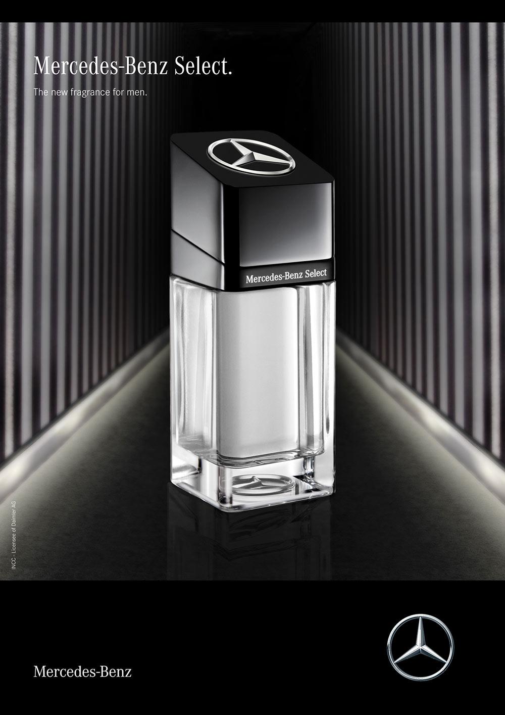 b0a24bf8f1 Mercedes-Benz Select Mercedes-Benz colônia - a novo fragrância ...
