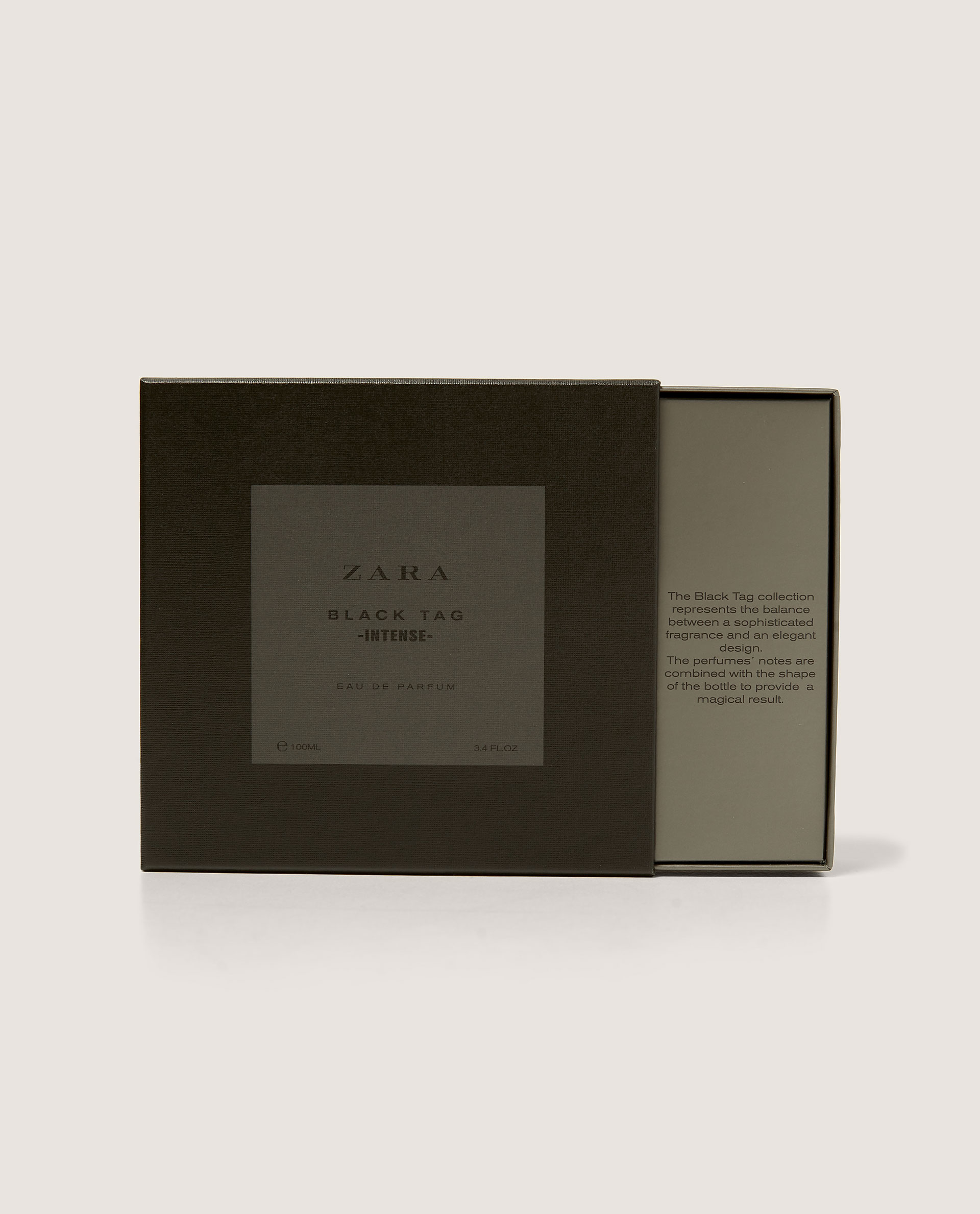 Zara Black Intense Eau Un Tag Parfum 2017 Nouveau De Cologne derxBCoW