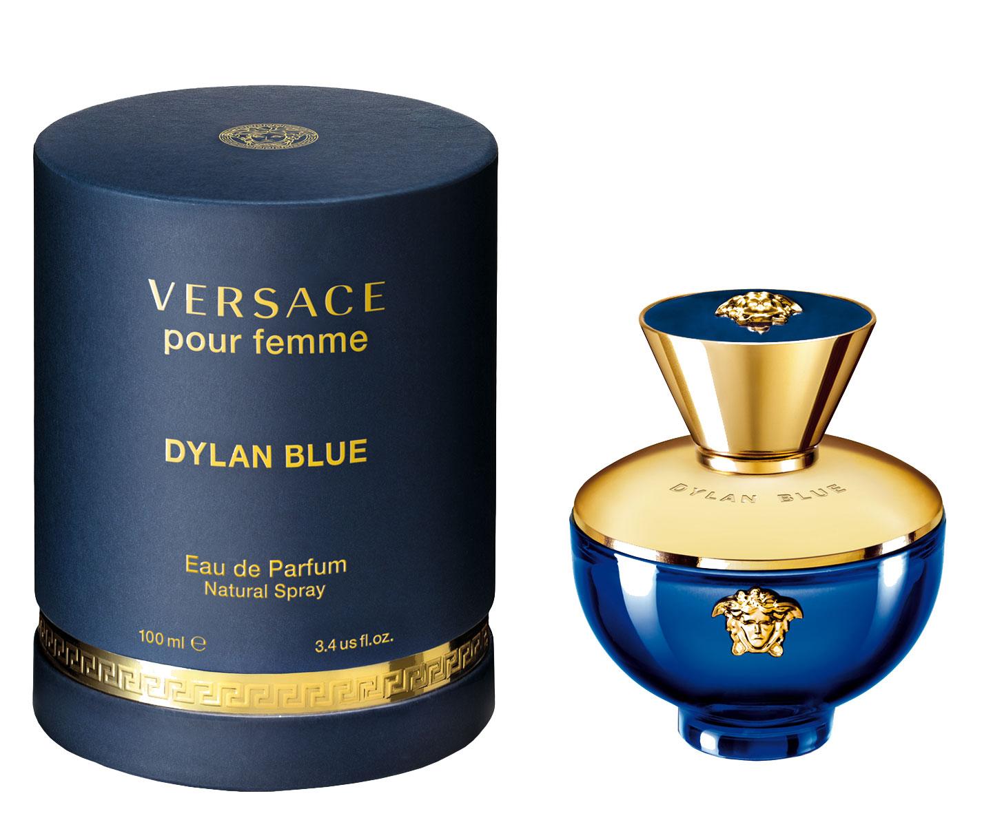 Un Nouveau Femme Parfum Tdbqroxshc Blue Pour Versace Dylan l5JT1c3uKF