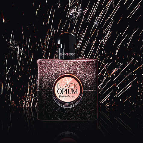 Black Opium Dazzling Lights Edition Yves Saint Laurent una