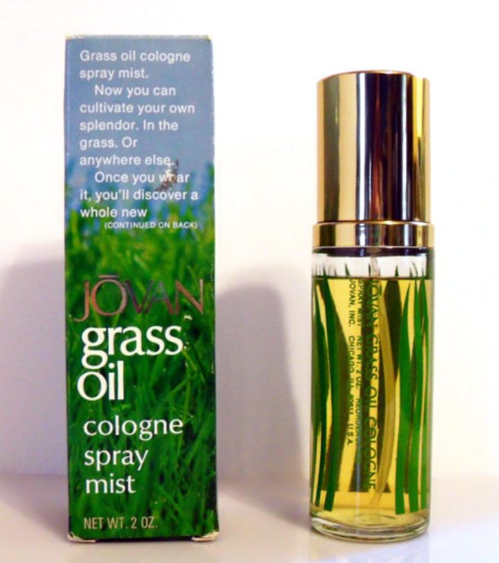 Grass Oil Jovan Cologne ein es Parfum für Männer 1974