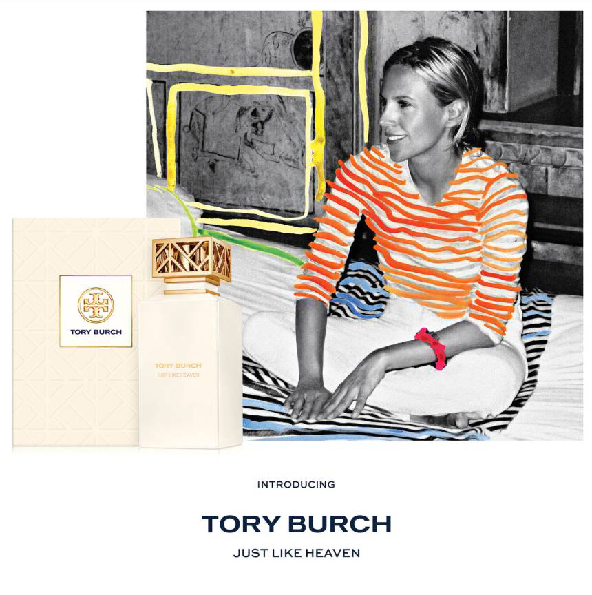 806f64a5a130 Just Like Heaven Tory Burch perfume - a new fragrance for women 2018