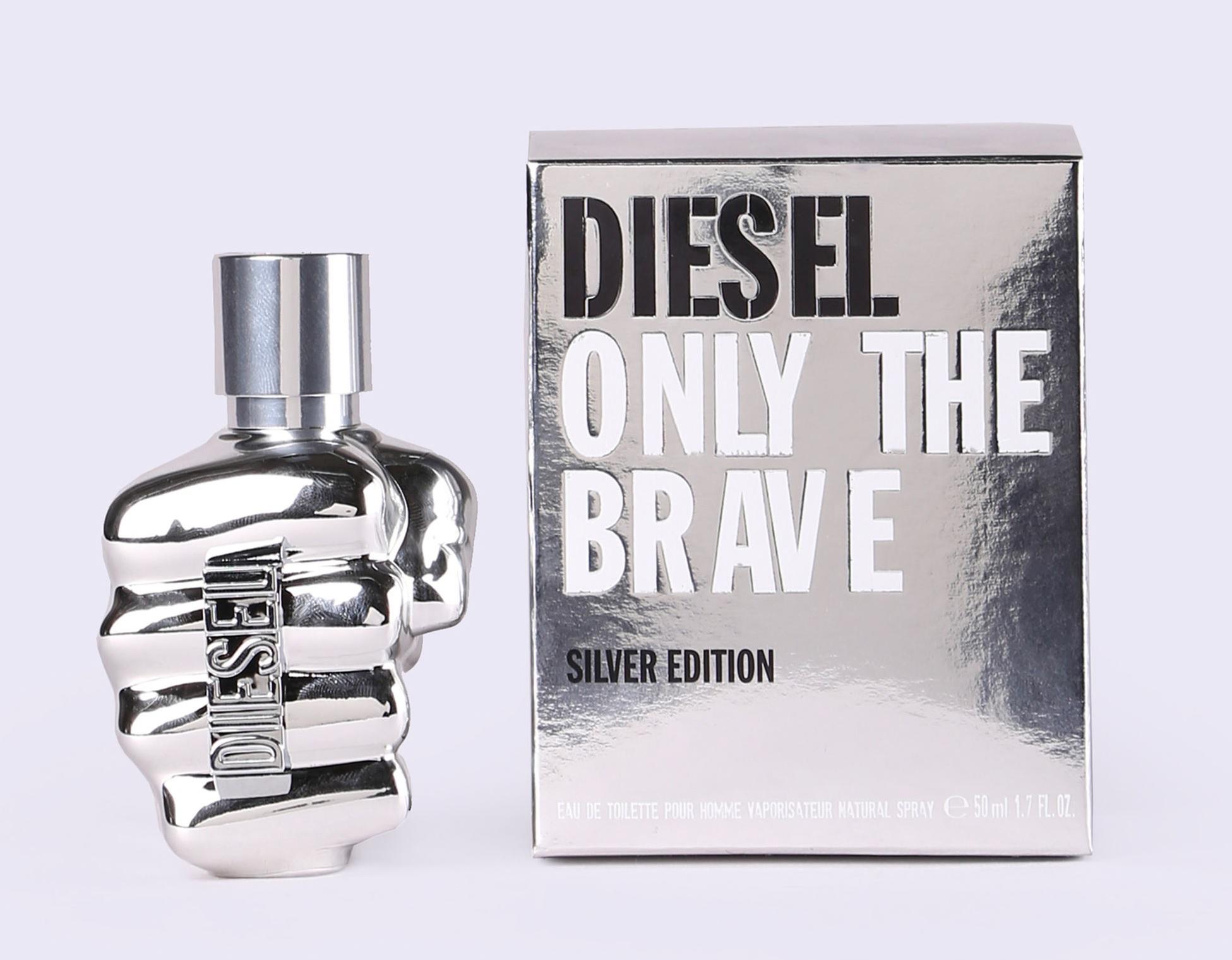 Only The Brave Silver Diesel Cologne Un Nouveau Parfum Pour Homme 2018