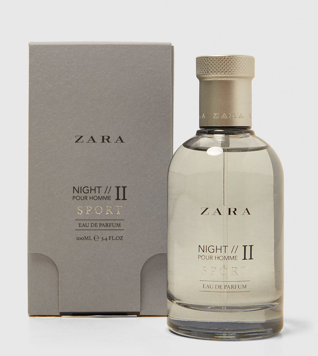 e948fee9222b Zara Night Pour Homme II Sport Zara cologne - a new fragrance for ...