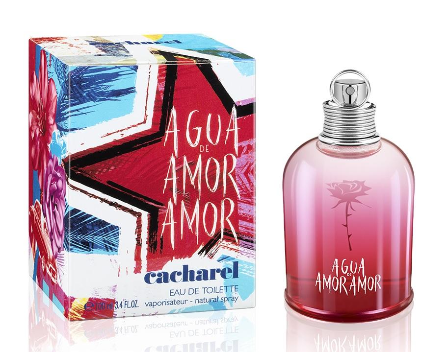 52aebea3f49 Agua de Amor Amor Cacharel perfume - a new fragrance for women 2018