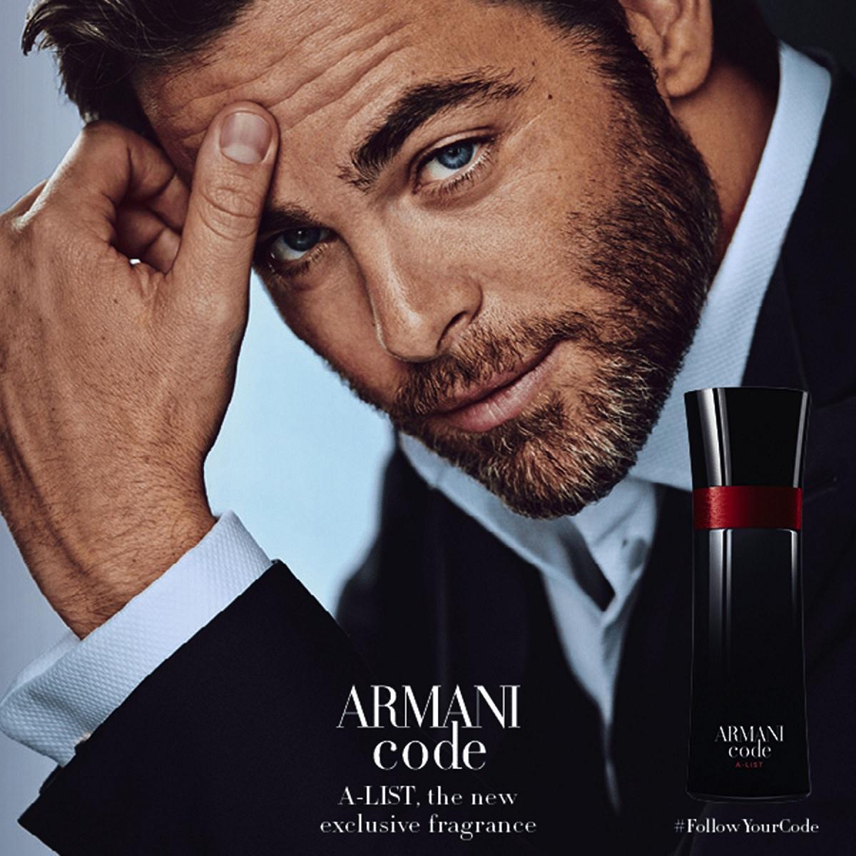 1744f17c99c0 Armani Code A-List Giorgio Armani одеколон — новый аромат для мужчин ...