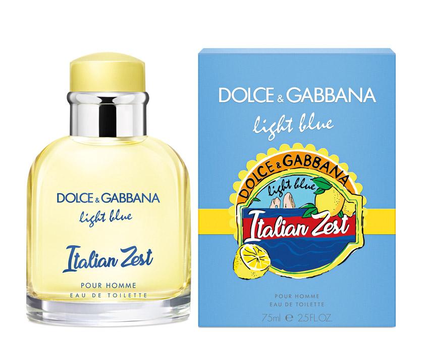2b73cedf9f ... Light Blue Italian Zest Pour Homme Dolce&Gabbana para Hombres Imágenes