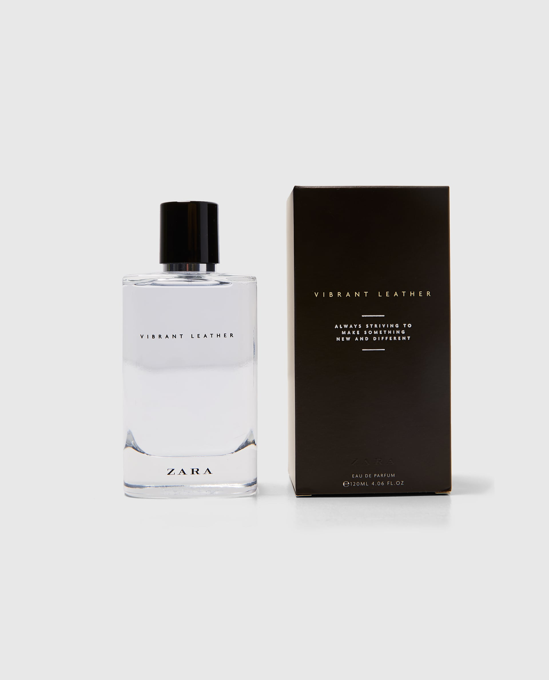 Vibrant Leather Eau De Parfum Zara Cologne A New Fragrance For Men