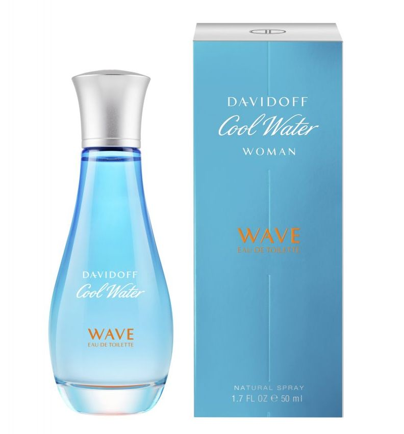6350fab6ef Cool Water Woman Wave Davidoff perfume - a new fragrance for women 2018