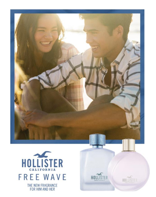Wave Pour Free Femme For Her Hollister xBCQdoeErW
