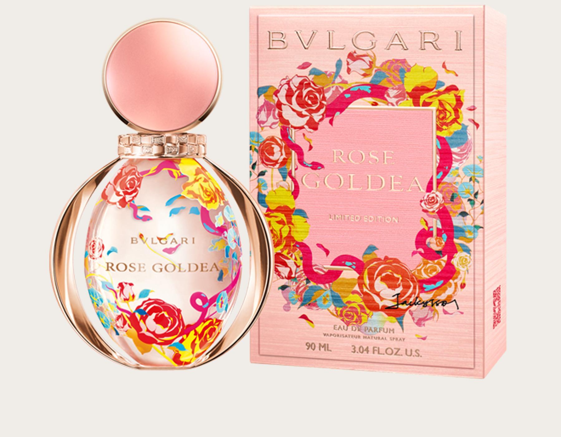 5dec8b80c4c3 Rose Goldea Jacky Tsai Edition Bvlgari perfume - a new fragrance for ...