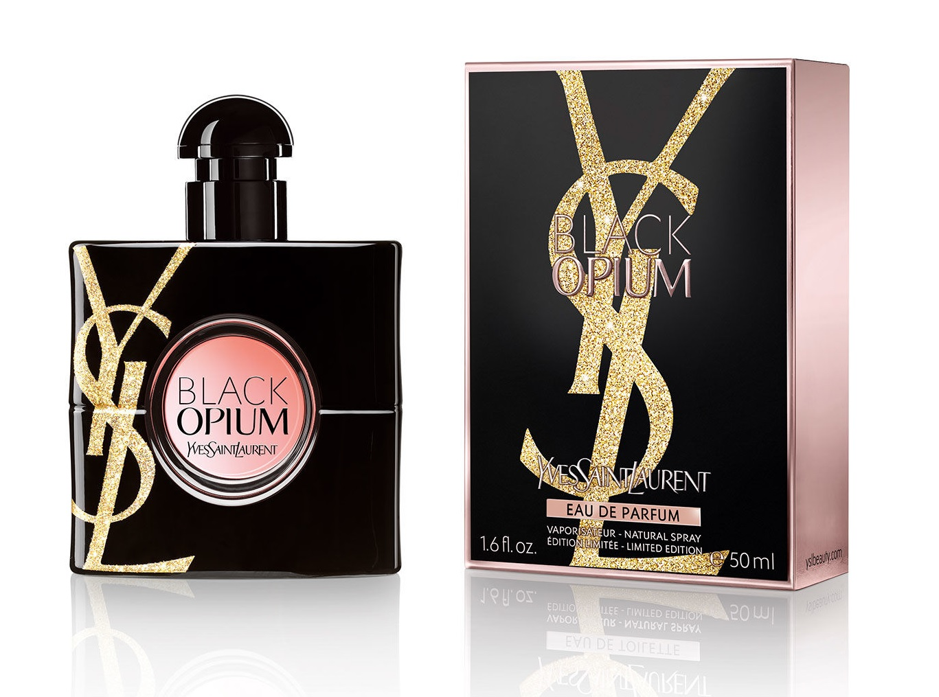 Black Opium Gold Attraction Edition Yves Saint Laurent Perfume A