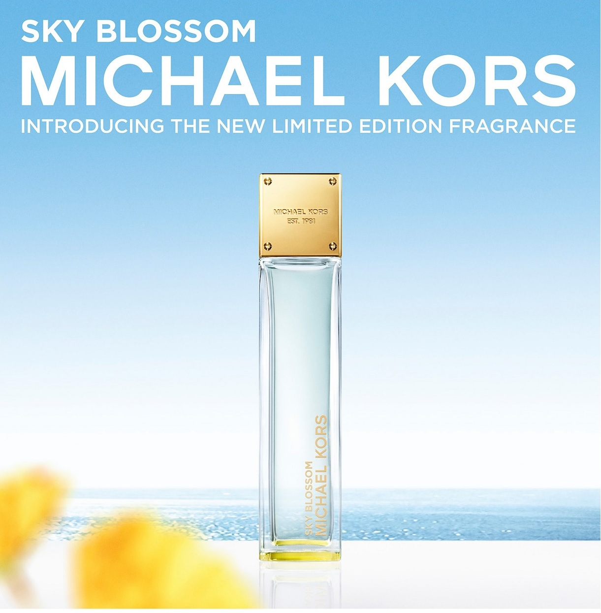 cb3f5ef3e7fa Sky Blossom Michael Kors perfume - a new fragrance for women 2018