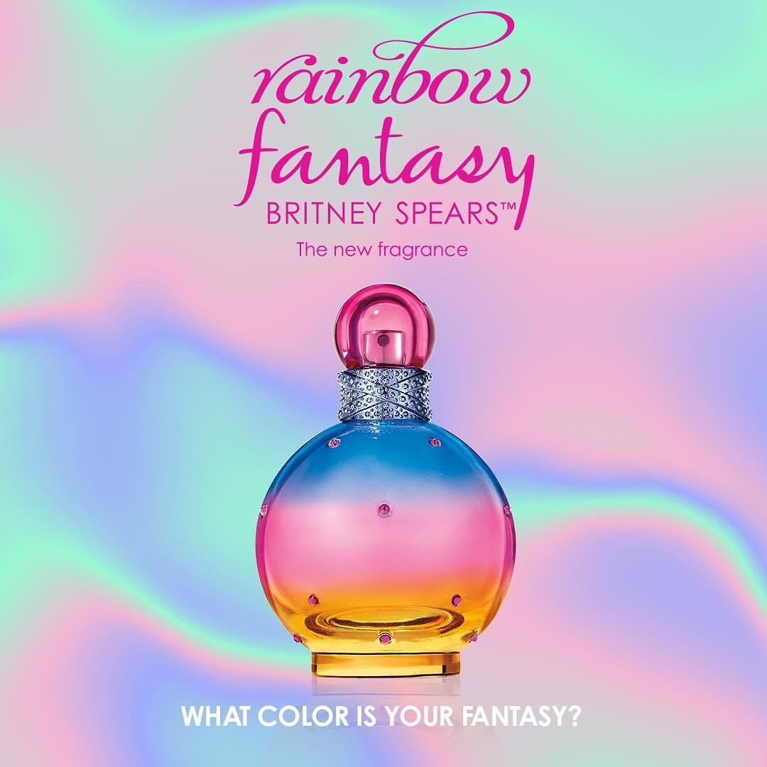 99a02cc510db Rainbow Fantasy Britney Spears perfume - a new fragrance for women 2019