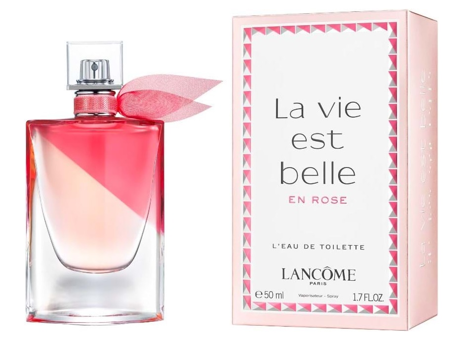 מדהים La Vie est Belle en Rose Lancome perfume - a new fragrance for QQ-68