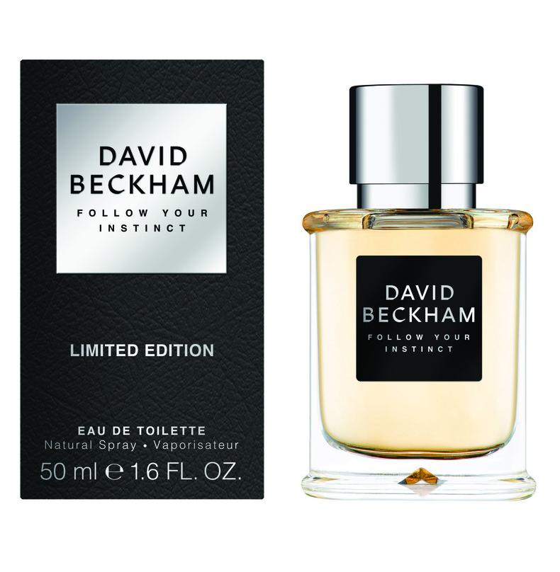 Follow Your Instinct David Beckham одеколон новый аромат для